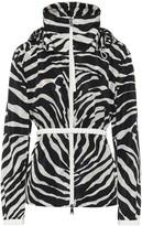 Christian Dior Zebra-print technical jacket