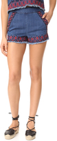 Blank Blue Note Shorts
