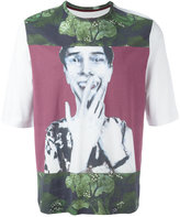 Antonio Marras glitched face T-shirt - men - Cotton - S