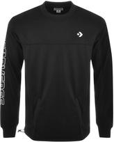 Converse Hybrid Logo Sweatshirt Black