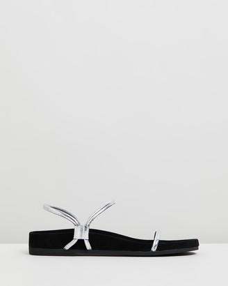 CAVERLEY Oscar Suede Leather Sandals