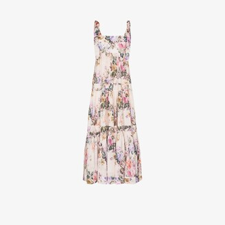 Zimmermann Brighton floral print midi dress