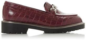 Head Over Heels Gali Chunky Chain Loafers