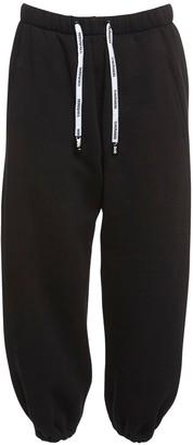 Natasha Zinko Cotton Blend Jersey Sweatpants