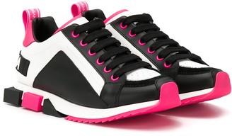 Dolce & Gabbana TEEN colour-block sneakers