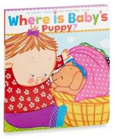 Simon & Schuster Where is Baby's Puppy? Lift-the-Flap Board Book by Karen Katz