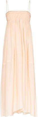 Chloé Ruched Midi Dress