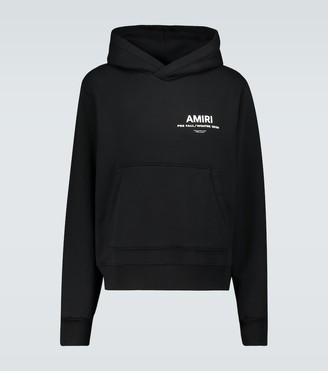 Amiri Hooded sweatshirt with logo
