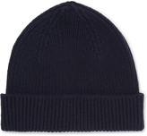 Paul Smith - Ribbed Cashmere And Wool-blend Beanie