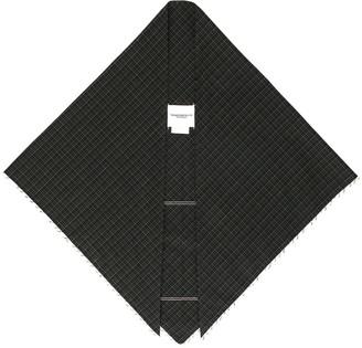 TAKAHIROMIYASHITA TheSoloist. Grunge print scarf