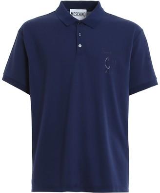 Moschino Logo Motif Polo Shirt