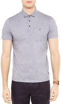 Ted Baker Inwop Striped Regular Fit Polo