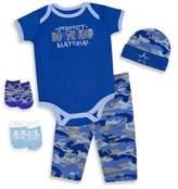 Baby Essentials 5-Piece Perfect Boyfriend Layette Set in Blue