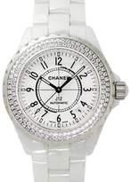 Chanel J12 Automatic H0969 White Ceramic Diamond Watch