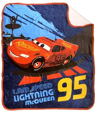 Disney Pixar Cars Cars McQueen Sherpa-Backed Throw