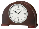 Seiko Desk And Table Clock With 12 Hi Fi Melodies And Chime Brown Qxw239blh