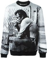 Dolce & Gabbana James Dean print sweathsirt - men - Cotton/Polyester - 48