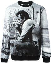 Dolce & Gabbana James Dean print sweathsirt