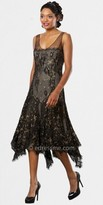 Mignon Sheer Embroidery Evening Dresses
