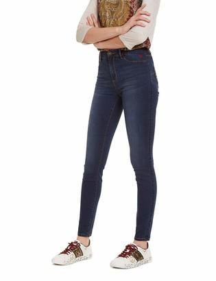 Desigual Women's Trousers Basic 2nd Skin Skinny Jeans