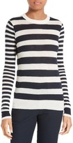 Joseph Women's Stripe Cashmere Pullover
