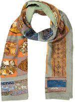 Hermes Silk Angora Stole