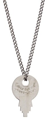 Miansai Wise Lock Sterling Silver Necklace