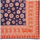 Drakes Drake's Men's Bandana-Print Pocket Square