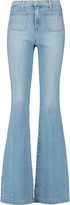 J Brand Demi high-rise flared jeans