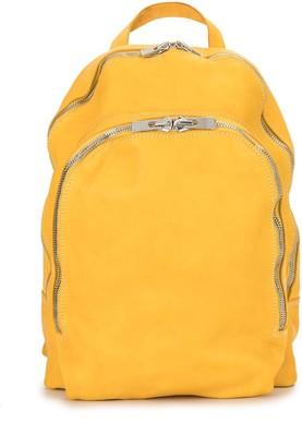 Guidi Zipped Backpack