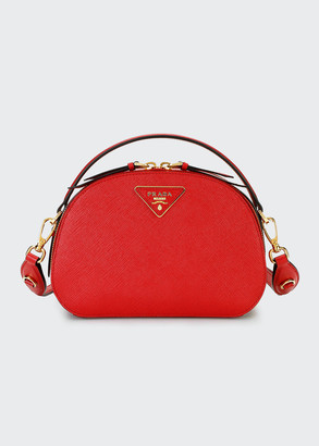 Prada Odette Top-Handle Bag w/ Removable Crossbody Strap
