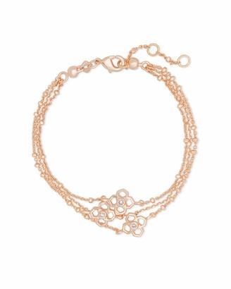 Kendra Scott Rue Multi Strand Bracelet Rhodium-Plated