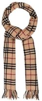 Burberry Nova Check Wool Scarf