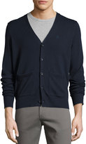 Original Penguin Long Sleeve Button-Front Cardigan, Blue