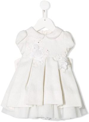Lapin House flower applique dress