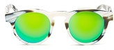Illesteva Leonard Mirrored Round Sunglasses, 48mm