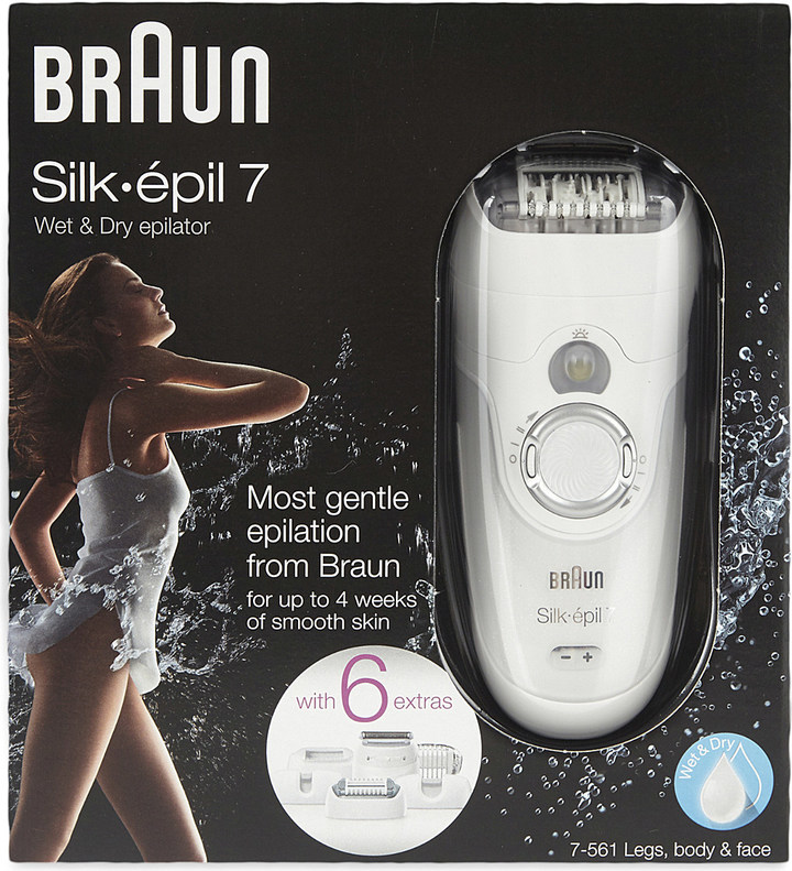 Braun Silk 7 wet & dry epilator