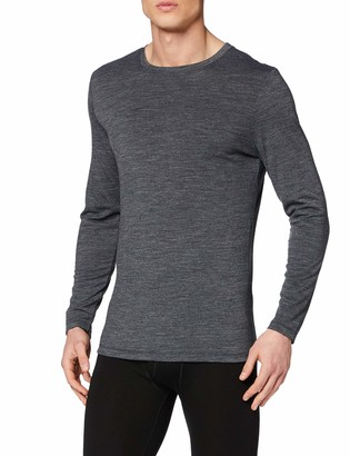 Thermals Men's Wool Mix Knit Base Layer Underwear T-Shirt