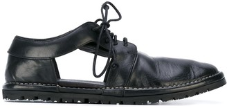 Marsèll Cut-Out Lace-Up Shoes