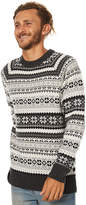 Swell Whistler Mens Knit Grey