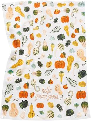Anthropologie Home Quill Fox Hello Gord-Geous Cotton Dish Towel