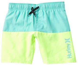 Hurley Double Color Pull-On Swim Trunks (Little Boys)