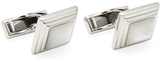 Canali Stainless Steel Ceremonial Square Cufflinks