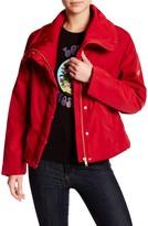 Love Moschino Funnel Neck Coat