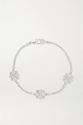 Buccellati Carlotta 18-karat White Gold Diamond Bracelet - M