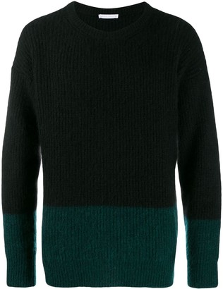 Societe Anonyme Ribbed Jumper