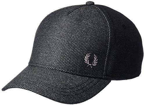 Fred Perry Men's Textured Baseball Cap