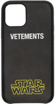 Vetements Black STAR WARS Edition iPhone 11 Pro Case