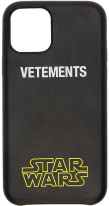 Vetements Black STAR WARS Edition iPhone 11 Pro Case
