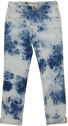 Elizabeth and James Blue Cotton Jeans for Women